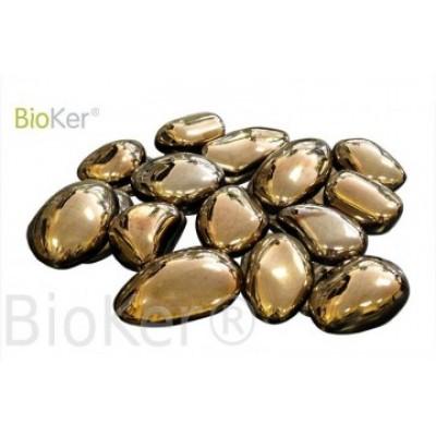 Камни золотые 14 шт