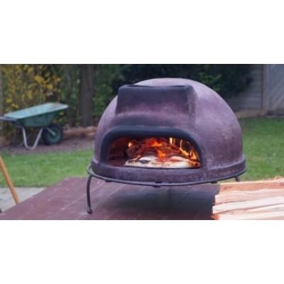 Маленькая дровяная печь для пиццы Тоскана